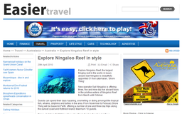 Easier - Explore Ningaloo Reef in style