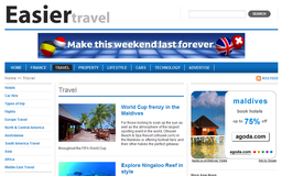 Easier Travel - Hotels, Flights, Holidays, Car Hire, Guides