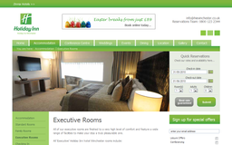 Holiday Inn Winchester Executive Rooms