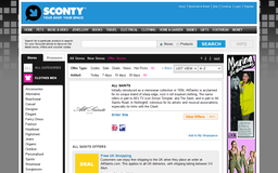 Sconty - Category Page