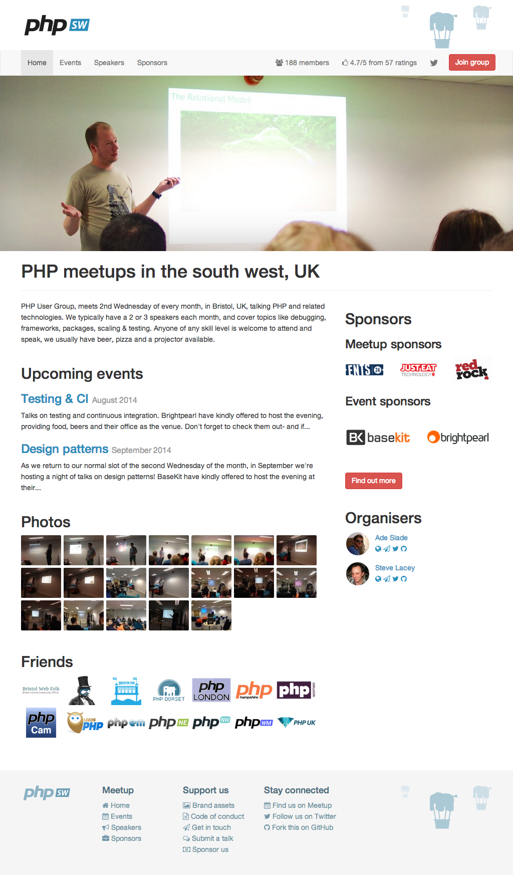 PHP South West UK